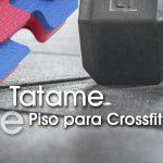 Tatames e piso Crossfit