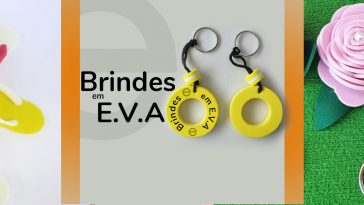 Brindes com EVA