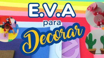 Artesanatos com E.V.A